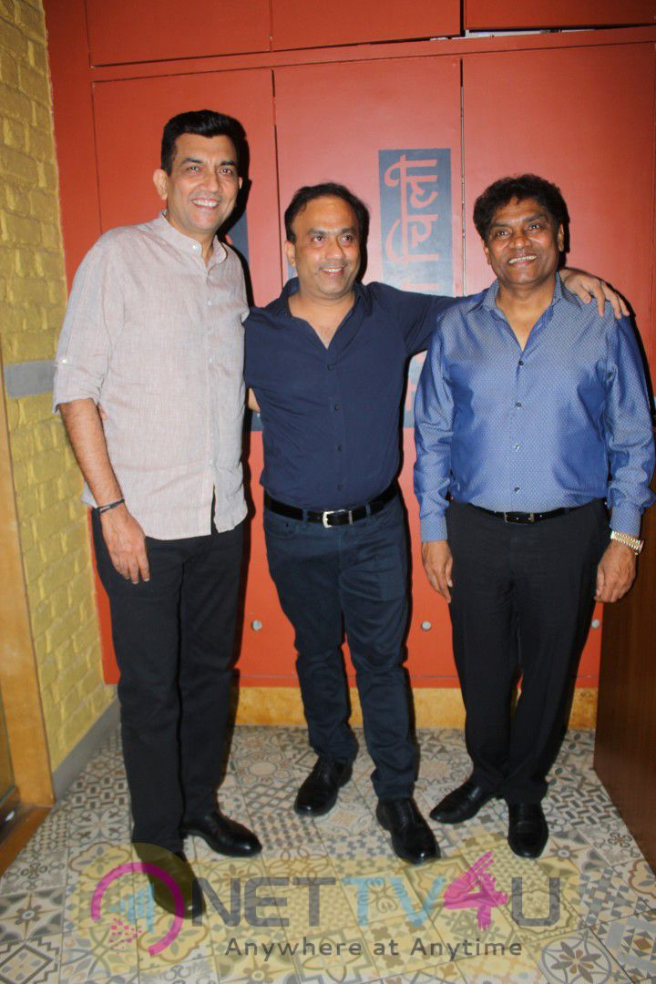 Johnny Lever At Sanjeev Kapoor's The Yellow Chilli Kitchen Stills