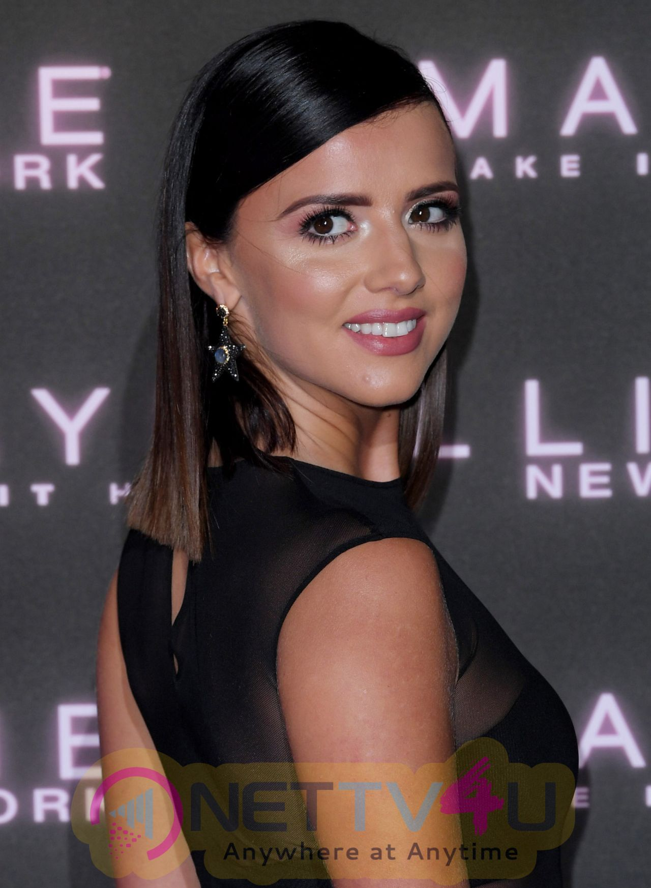 Model Lucy Mecklenburgh Maybelline Latest Stills English Gallery