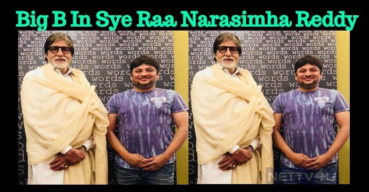 Amitabh In Sye Raa Narasimha Reddy!