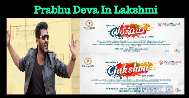 Prabhu Deva Unveiled His Next Movie Poster!