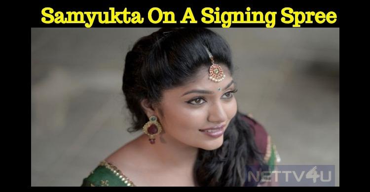 Samyukta Hornad In A Sci-fi Movie!