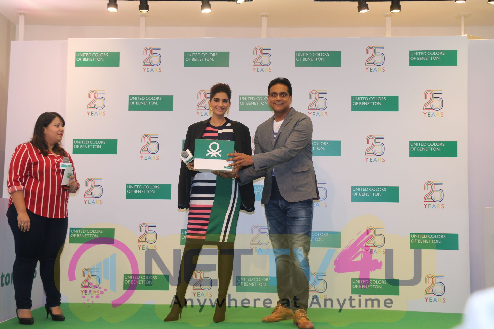 Sonam Kapoor During The 25 Years Celebration Of Benetton India Of Heritage And Values In India At United Colors Of Benetton Images