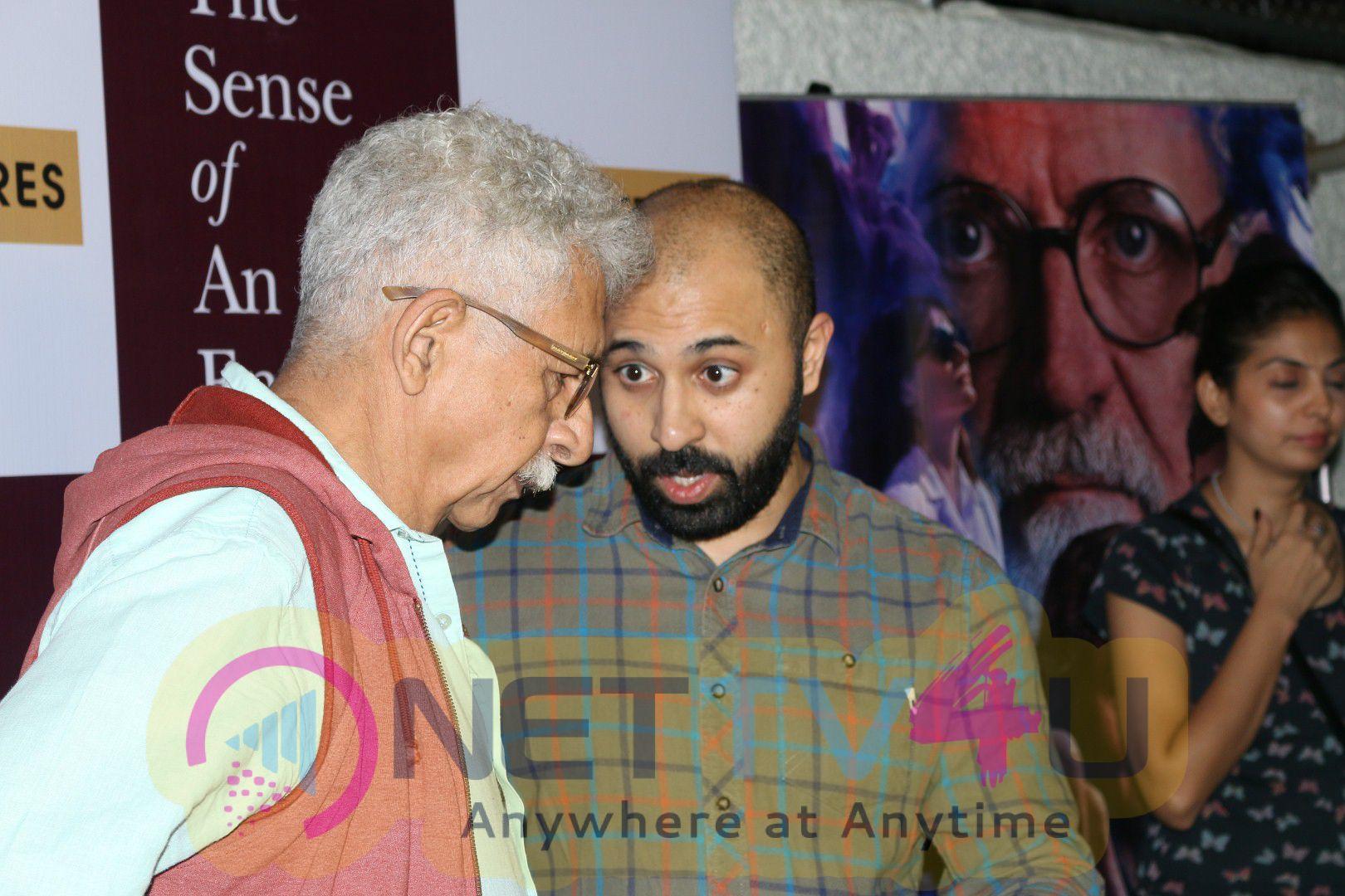 Special Screening Of Film The Sense Of An Ending With Naseeruddin Shah & Nimrat Kaur Beautiful Photos Hindi Gallery