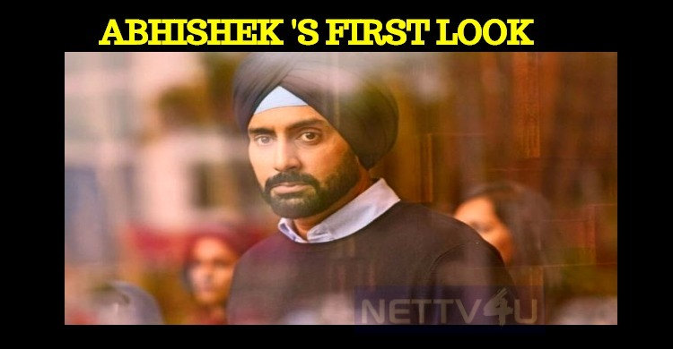 Abhishek's First Look From Manmarziyaan Impress..