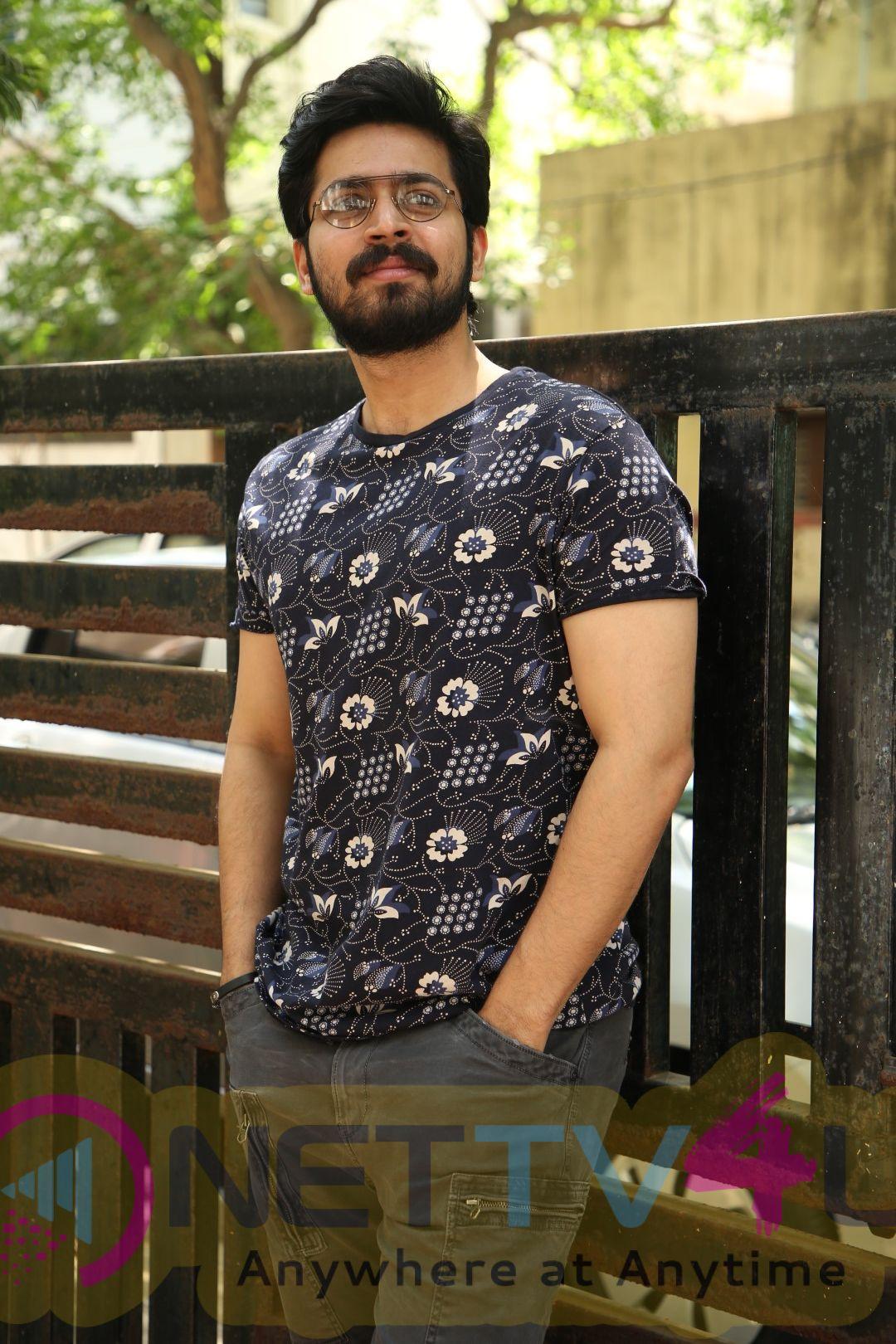 Actor Harish Kalyan Exclusive Interview Pics