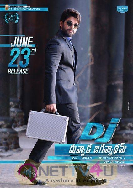 Duvvada Jagannadham Movie Stunning Release Poster and still