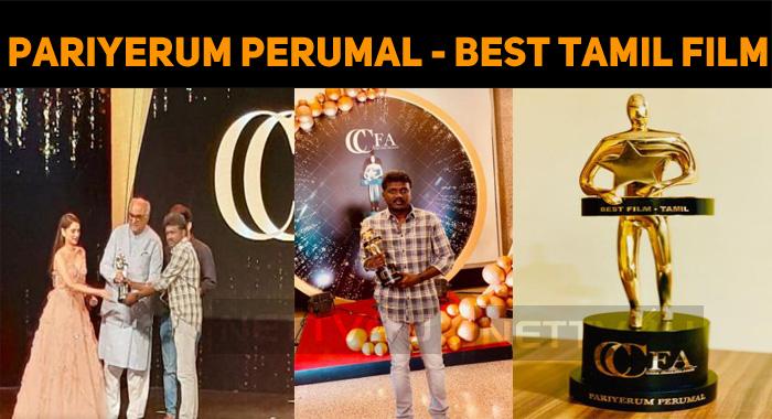 Pariyerum Perumal Gets One More Award!