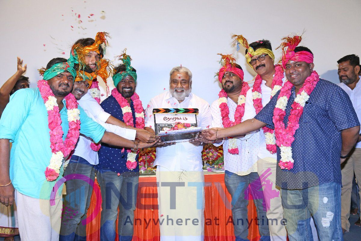 Devarattam Movie Pooja Stills