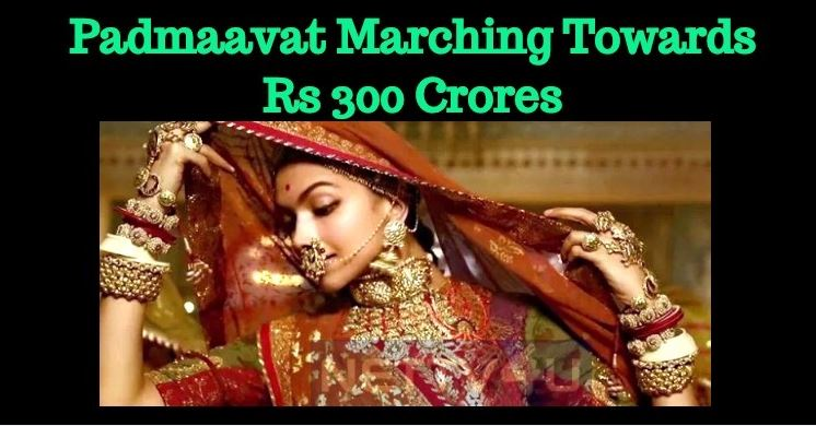 Padmaavat Marching Towards 300 Crores! Thanks T..
