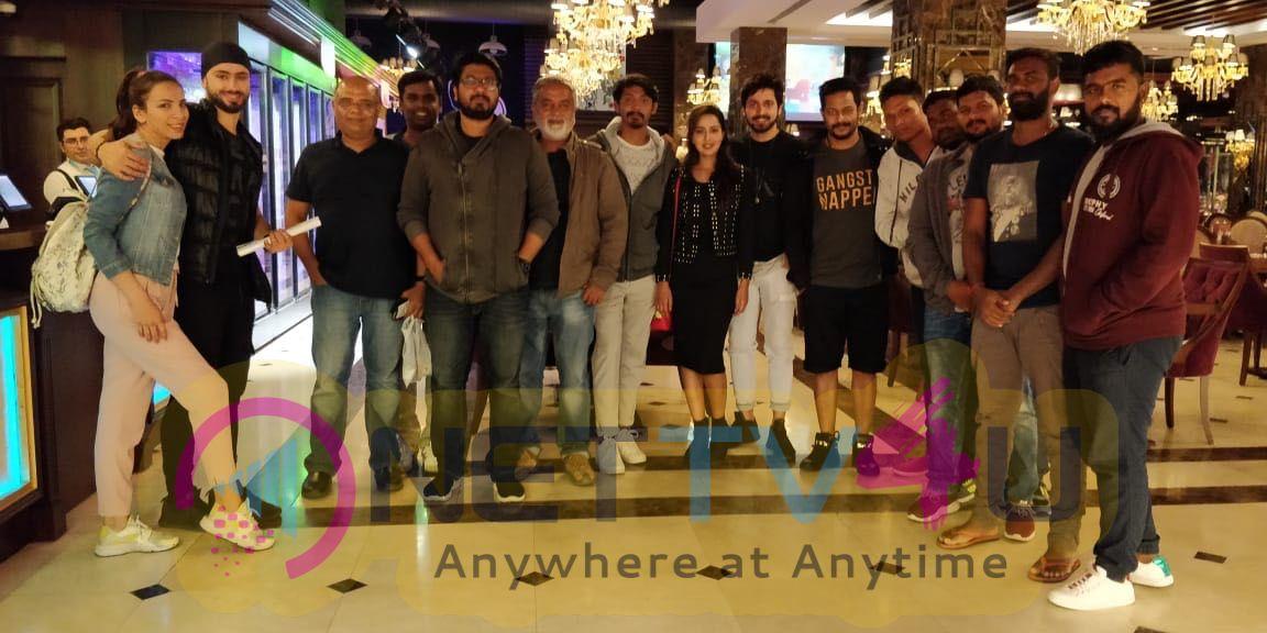Pyaar Prema Kaadhal Movie Shooting Spot Pics
