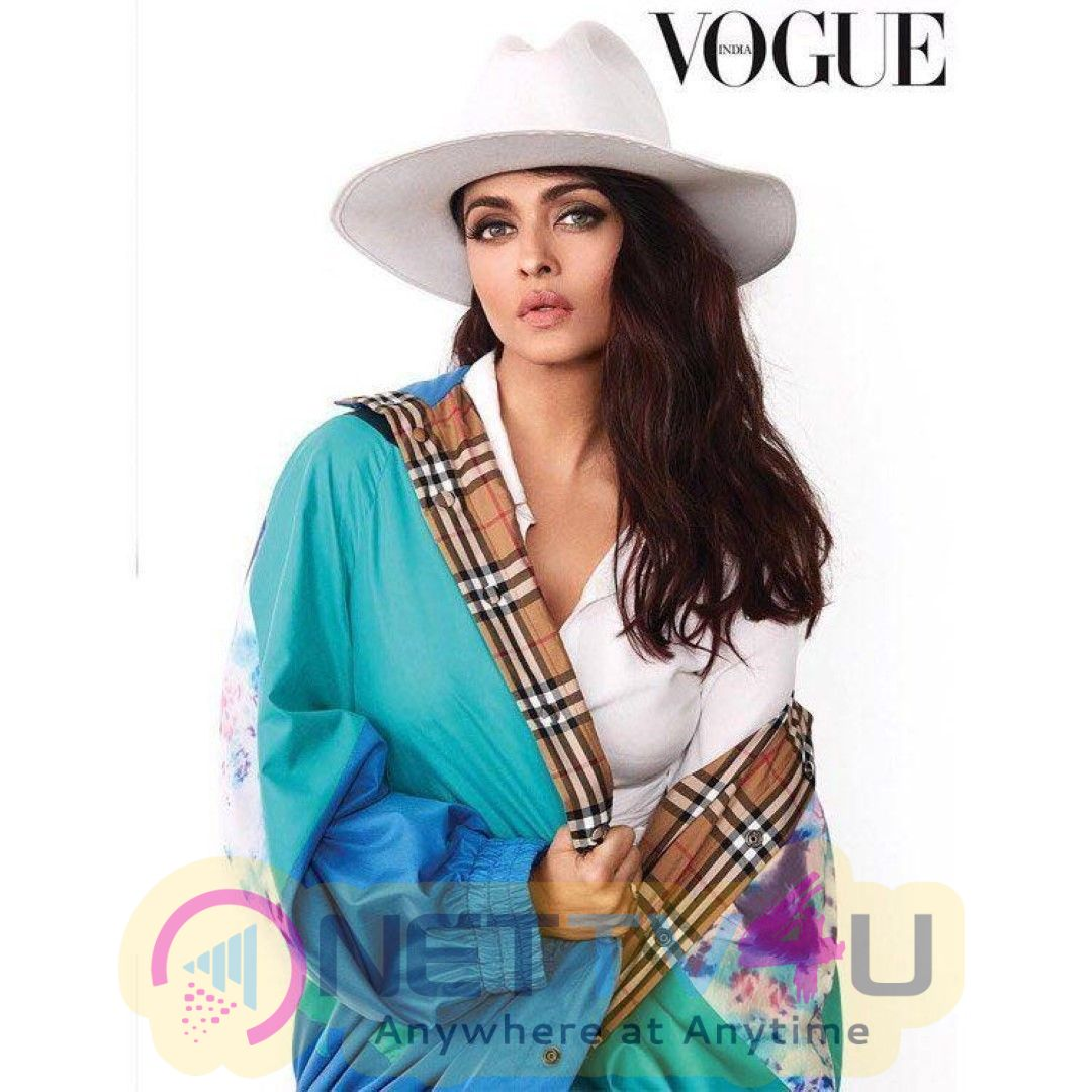 Aishwarya Rai Poses For Vogue India Magazine Stunning Stills