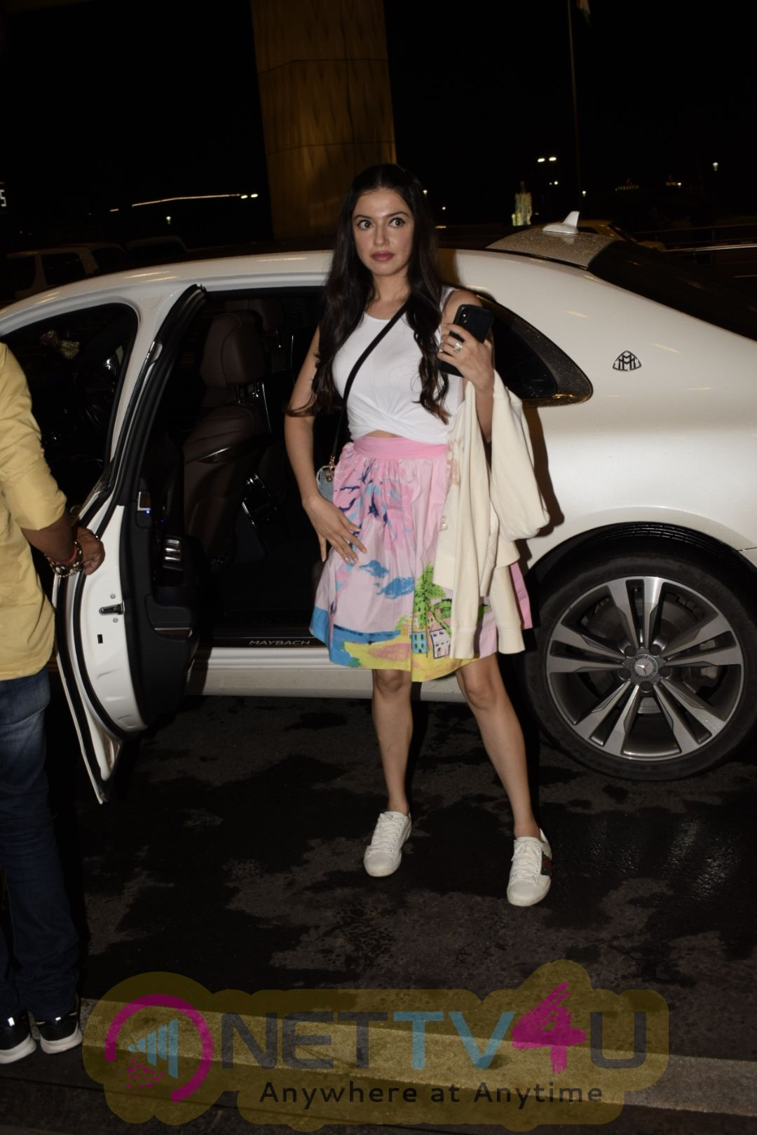 Bollywood Celebrities Leaving For IIFA Awards Spotted At International Airport In Mumbai Cute Images Hindi Gallery