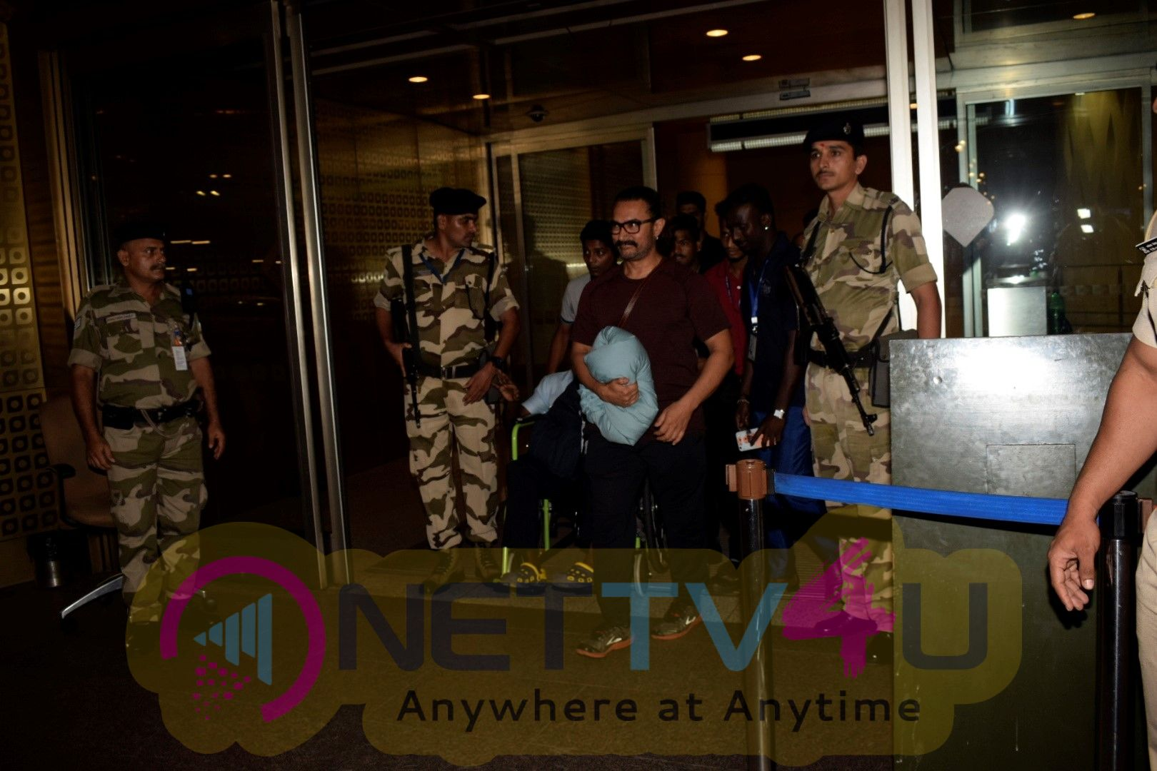 Actor Aamir Khan Spotted At International Airport In Mumbai Best Images Hindi Gallery