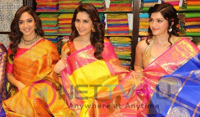 Telugu Actresses Launched GV Shopping Mall Wonderful Images