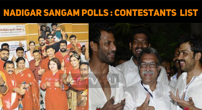 Nadigar Sangam Election Updates! Contestants Announcement!