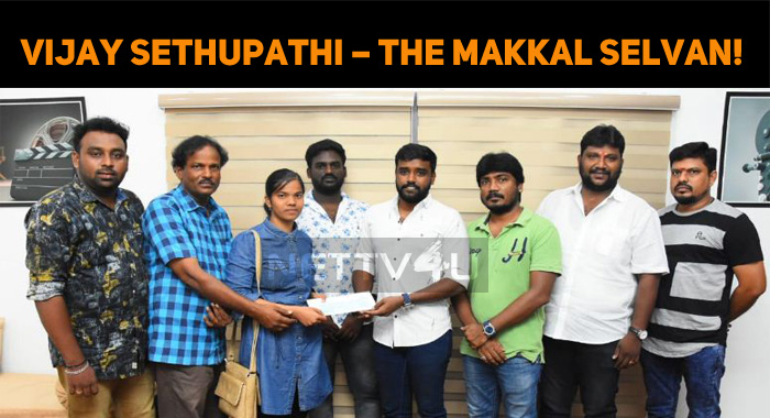 Vijay Sethupathi – The Real Makkal Selvan! What A Kind Gesture, Man!