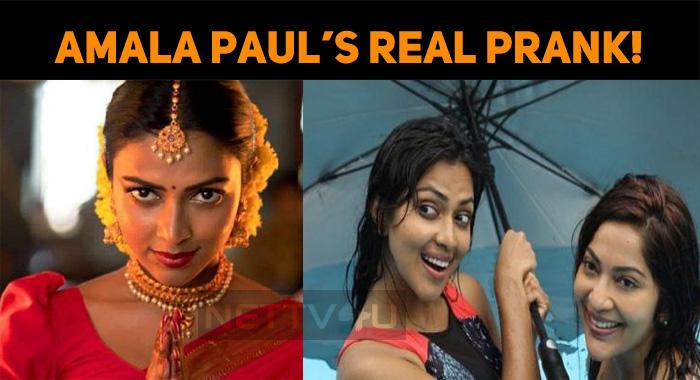 Amala Paul's Surprise Theater Visit – A Real Pr..