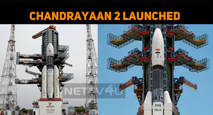 Chandrayaan 2 Launched! Chandrayaan 2 To Take I..