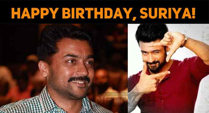 Happy Birthday, Dear Suriya!