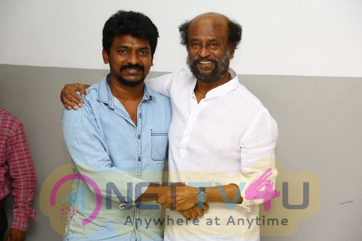 Kolamaavu Kokila Technical Team Met SuperStar Rajinikanth Pics Tamil Gallery