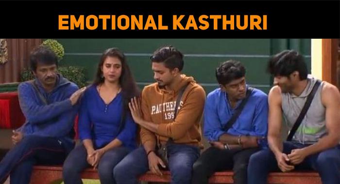 Kasthuri's Touching Story! Bigg Boss Family Emotional!