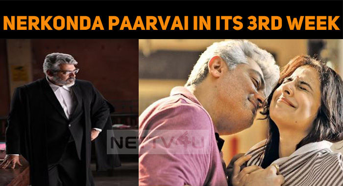 Nerkonda Paarvai Continues Its Third Week In Am..