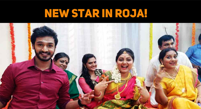 Sun TV Roja Serial Has Got A New Star!