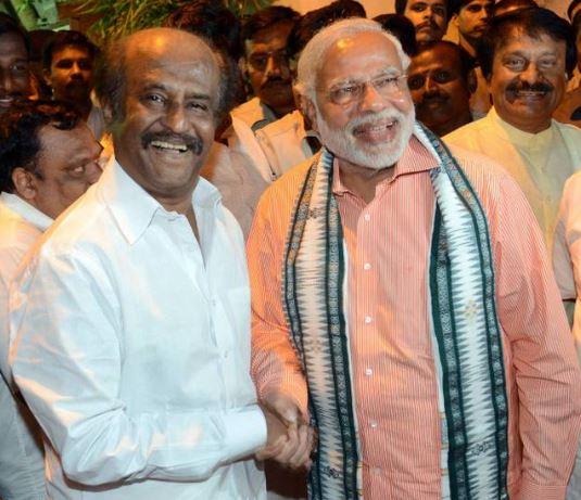 Superstar Rajinikanth Supports Prime Minister Narendra Modi's Swachhata Hi Seva Plan
