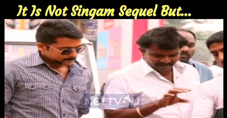 It Is Not Singam Sequel But…