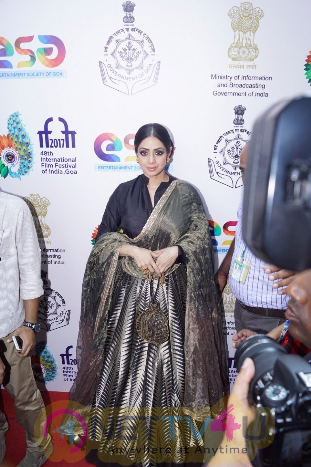 Inauguration Of Indian Panorama By Sridevi At IFFI 2017 Images Hindi Gallery