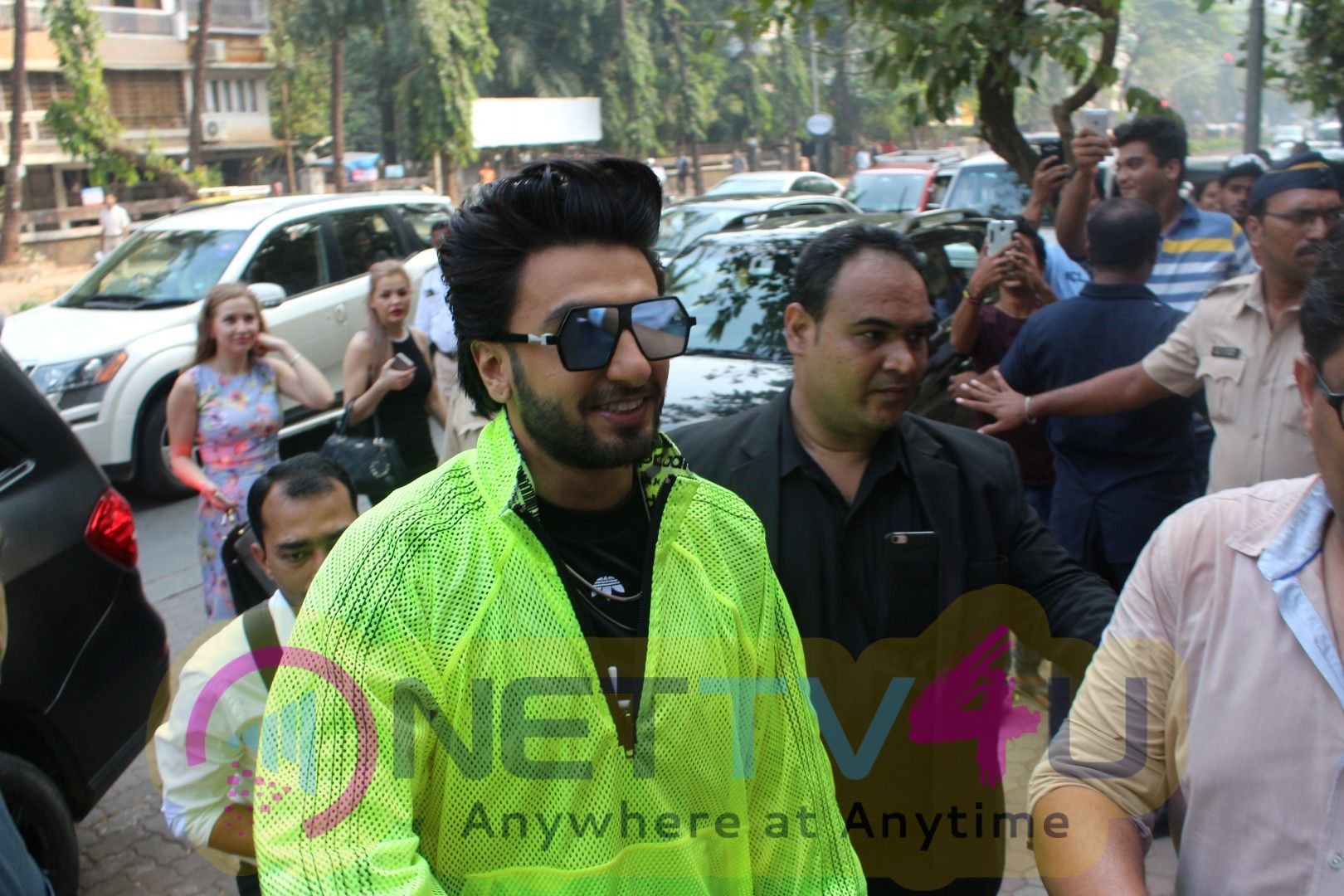 Launch Of Adidas OFDD Store With Ranveer Singh Photos