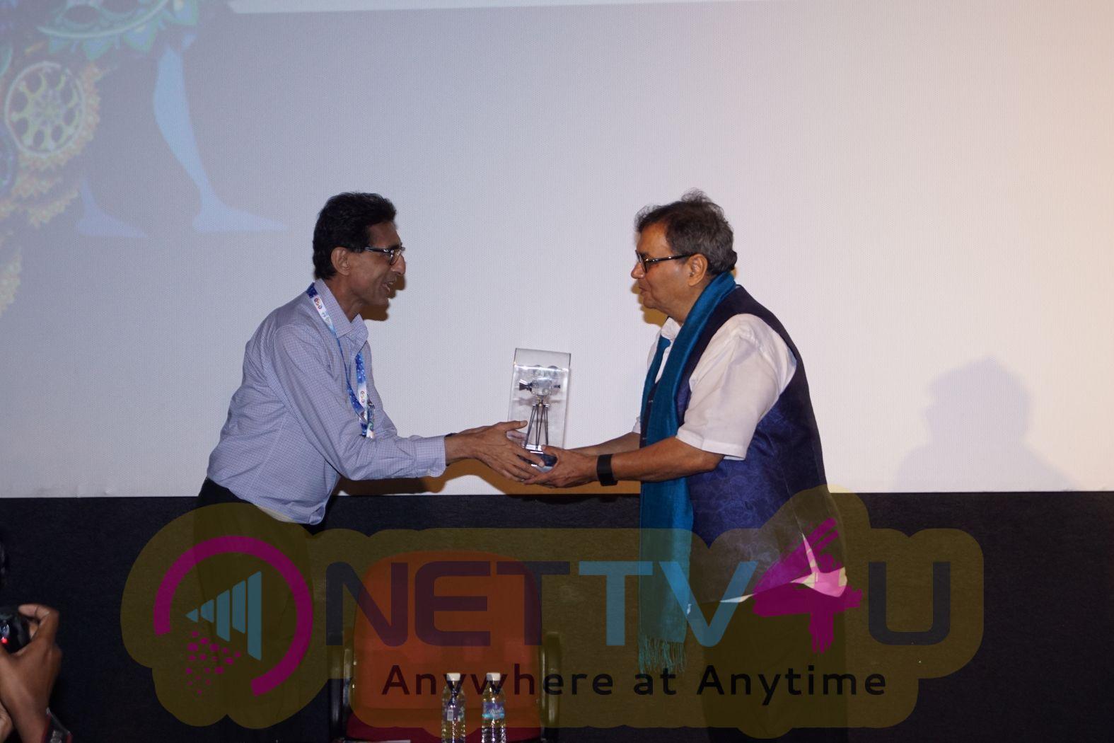 Subhash Ghai Masterclass At IFFI 2017 Images Hindi Gallery