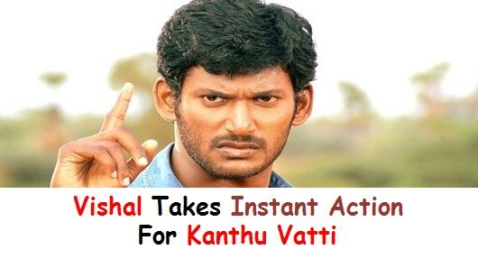 Vishal Orders To Prepare A List Of Producers Affected By Usury Interest!