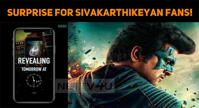KJR Studios To Surprise Sivakarthikeyan Fans!