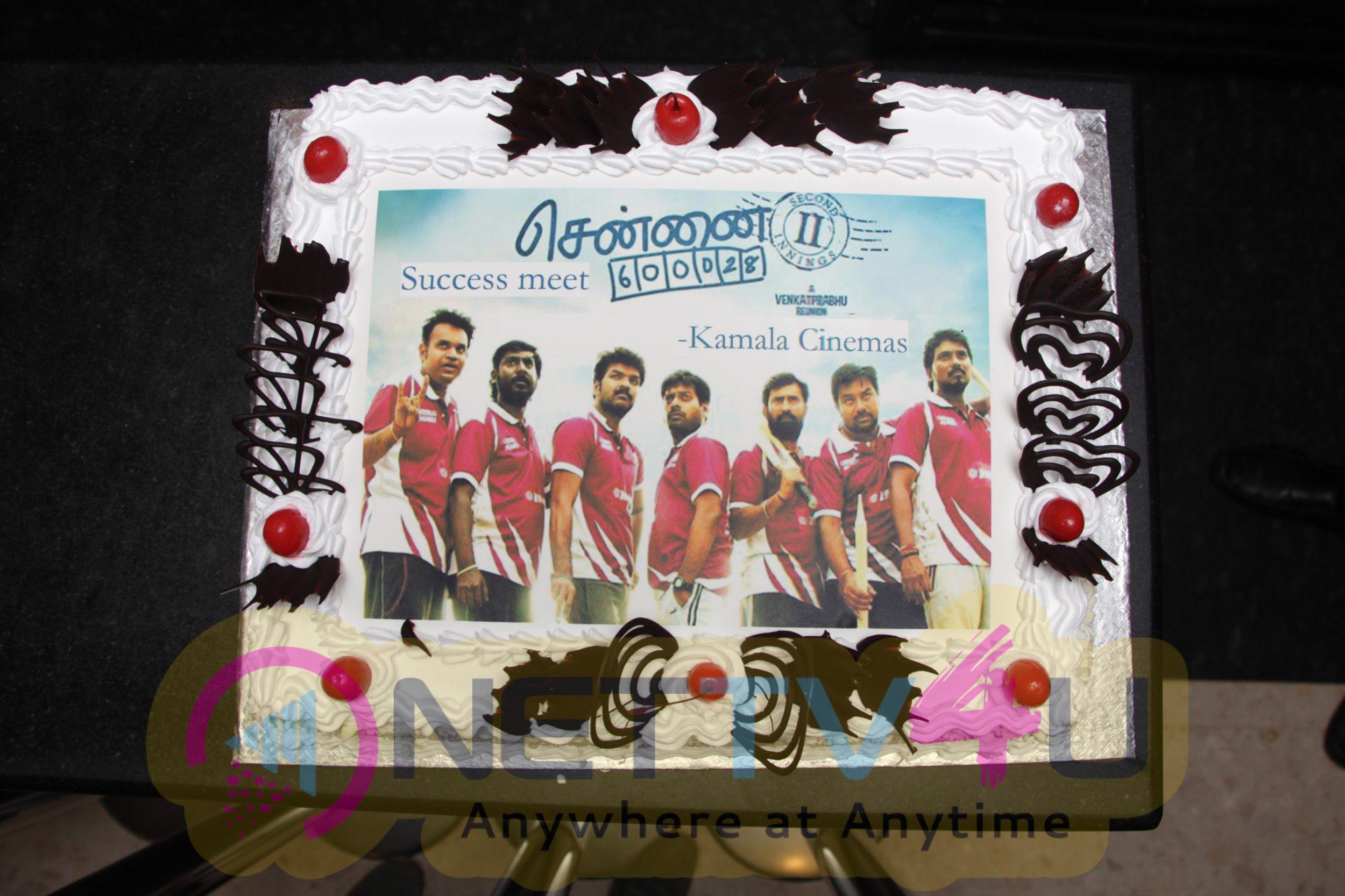 Chennai 600028 II Success Celebration At Kamala Cinemas Event Stills