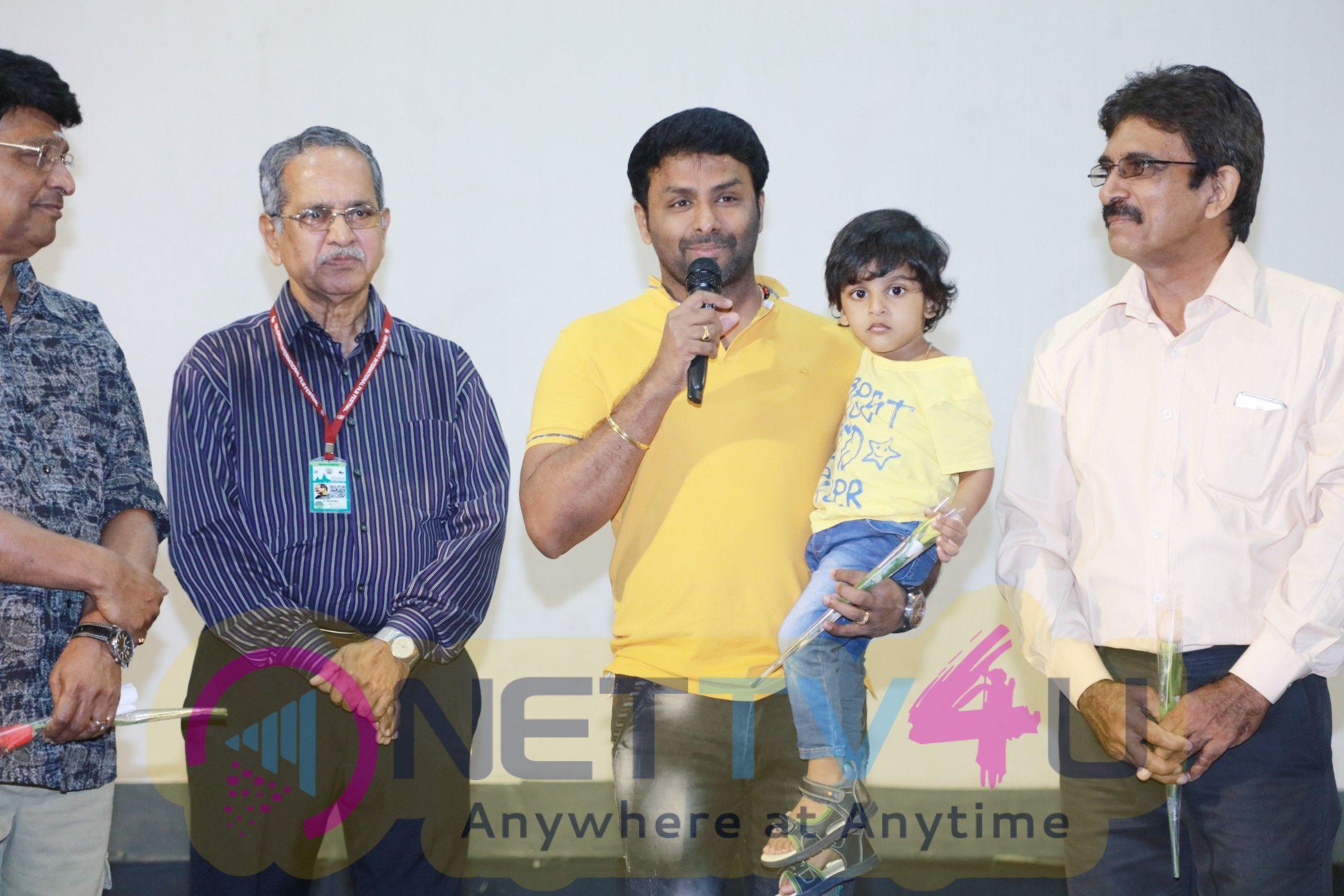 Ippadai Vellum Team At 15th Chennai International Film Festival Pics
