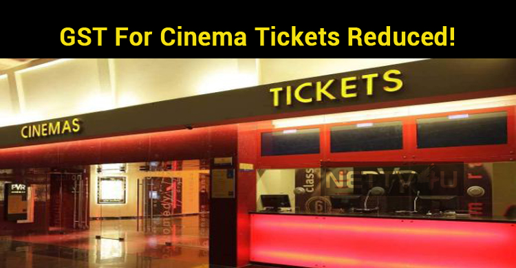 GST For Cinema Tickets Reduced!