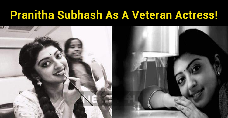 Pranitha Subhash As A Veteran Actress!