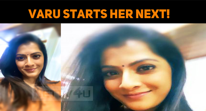 Varu Starts Shooting Her Next!