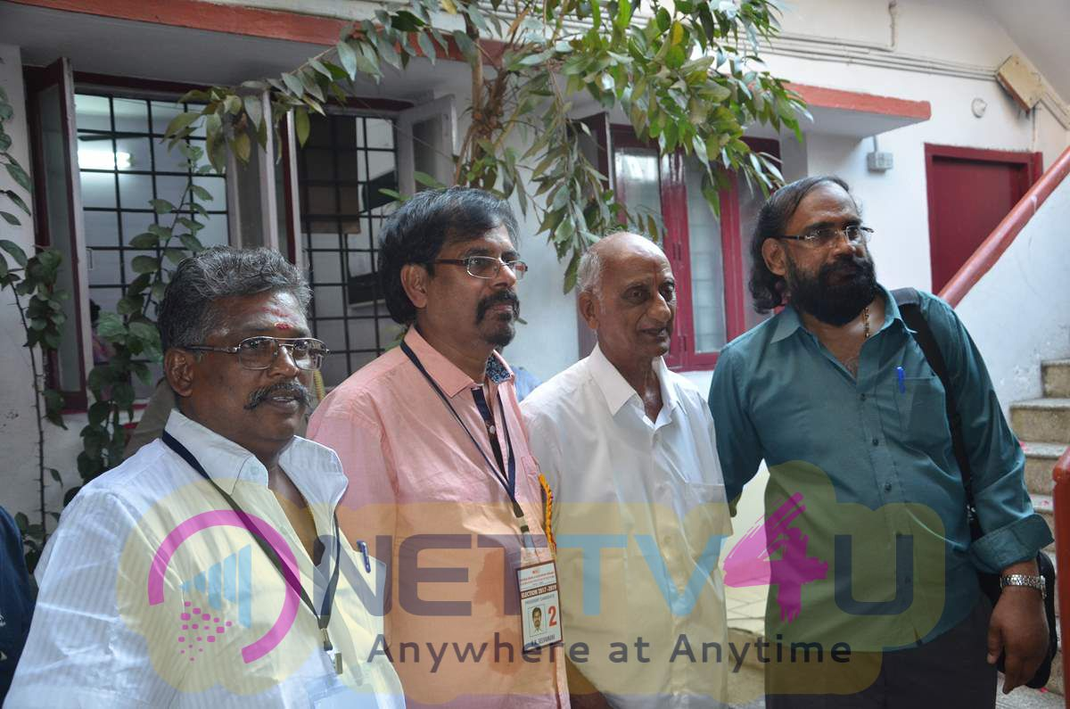 RK Selvamani Win For FEFSI Union Elections Photos