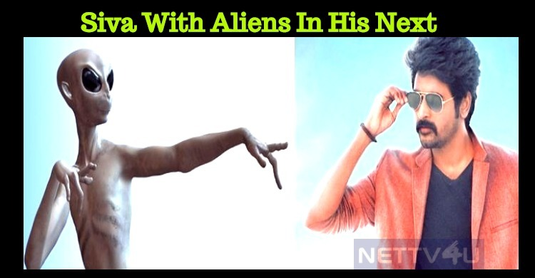 Sivakarthikeyan's Next With Aliens! Story Leaked!