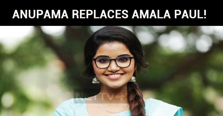 Anupama Replaces Amala Paul!