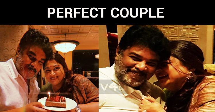 Kushboo And Sundar – A Perfect Couple