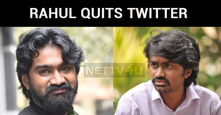 Rahul Ramakrishna Quits Twitter Following The Poor Response For Mithai!