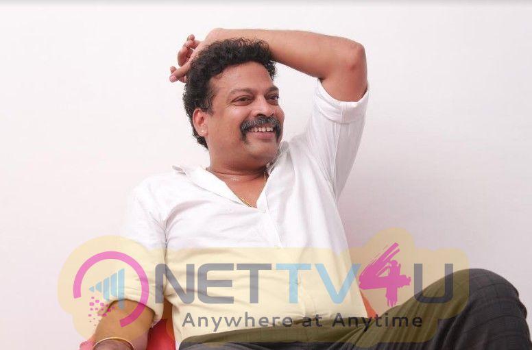 Actor John Vijay Exclusive Interview Stills