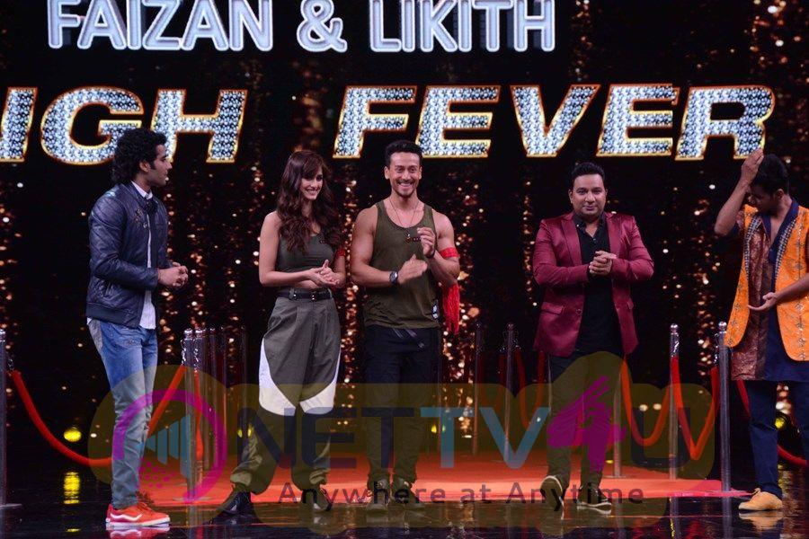 Tiger Shroff & Disha Patani On The Sets Of & tv's Dance Show