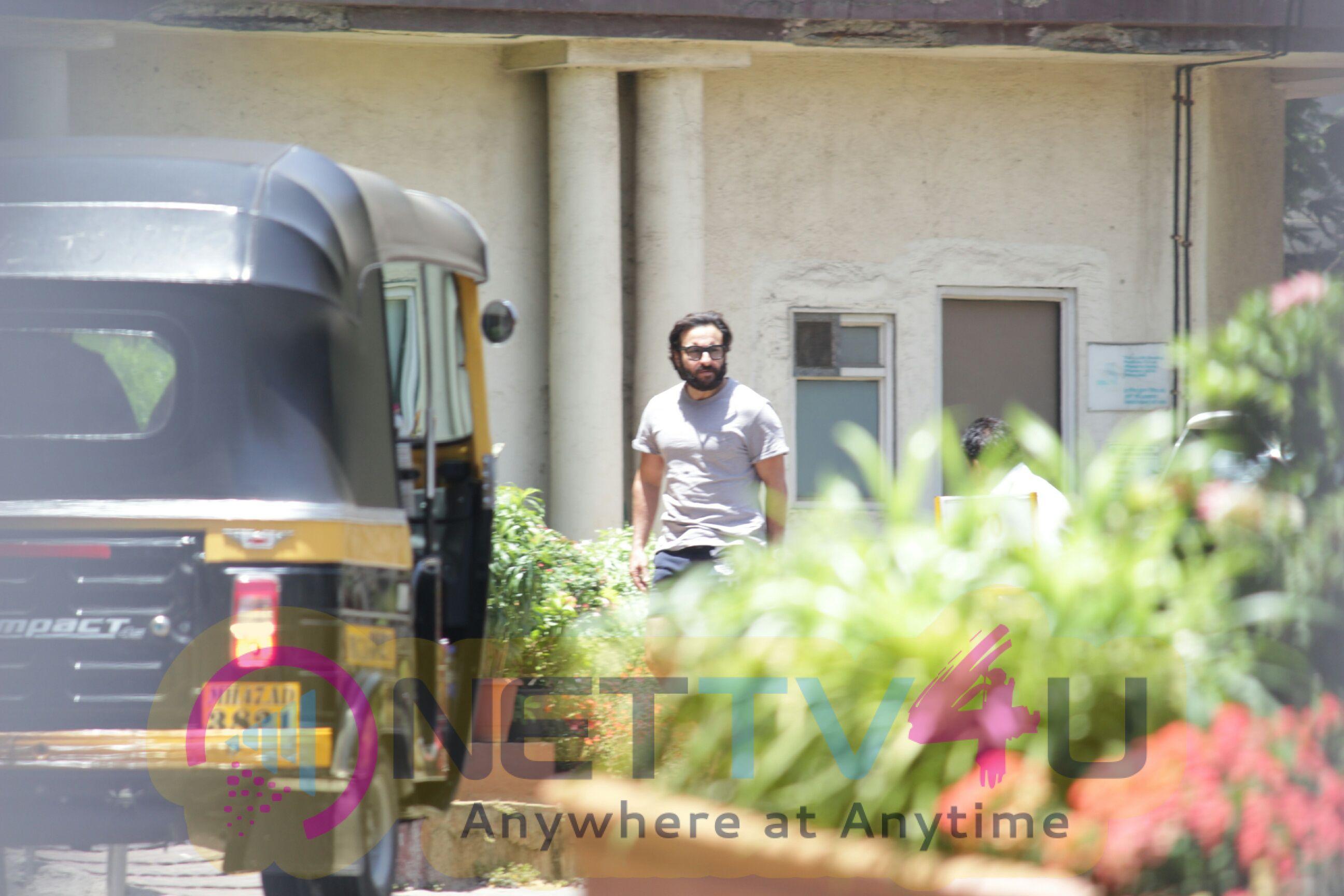 Saif Ali Khan Came To Lilavati Hospital In Bandra