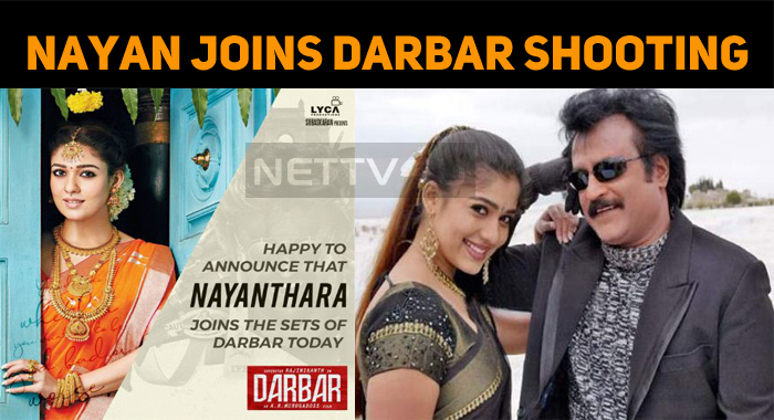 Nayan Joins Darbar Shooting!