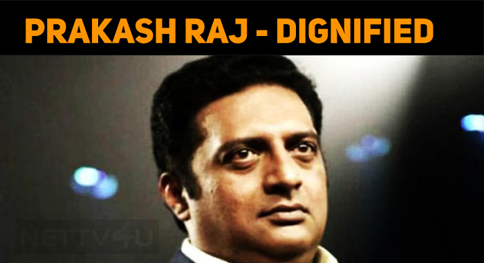 Prakash Raj Posts About His Defeat!
