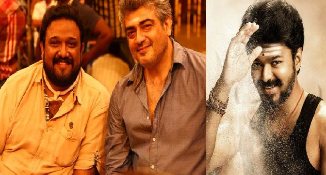 Ajith's Director Lauded Mersal Poster!